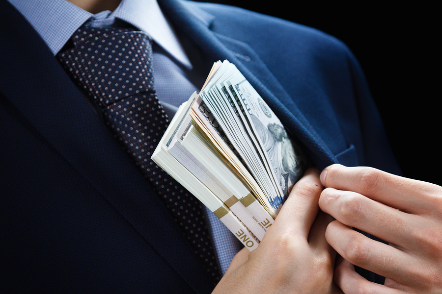 Fraud Waste and Abuse including corruption, bribing and money laundering.