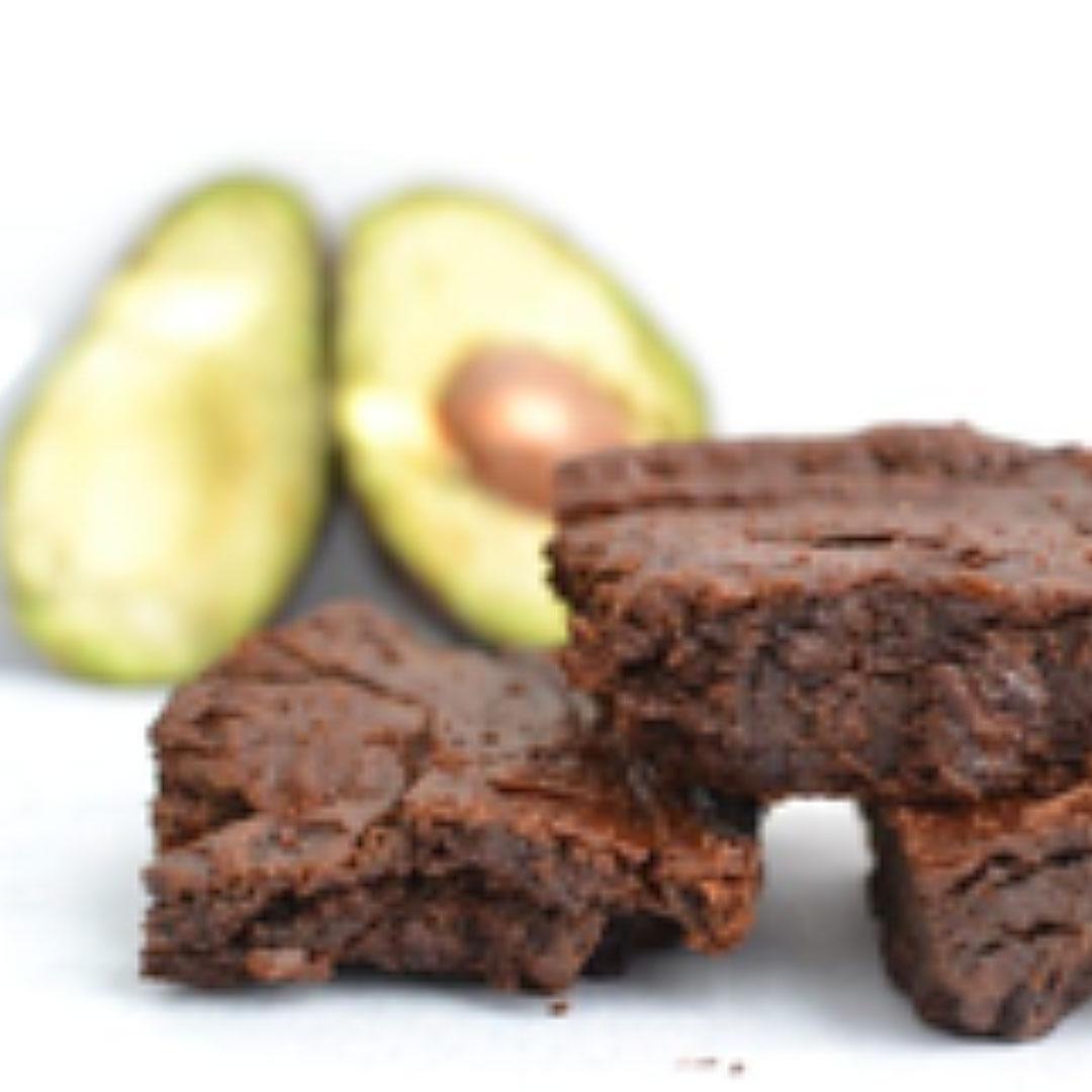 Avocado Brownie Bites