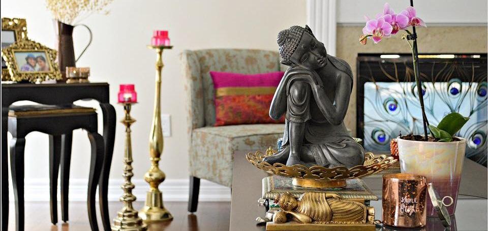 statue bouddha decoration maison