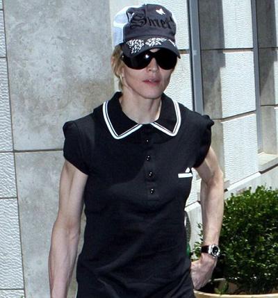 Мадонну засняли с любовником в квартире подруги // Съемку ...