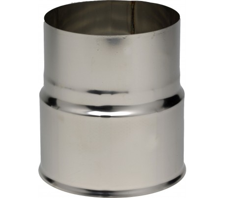 reduction inox pour tubage flexible ten poele a bois
