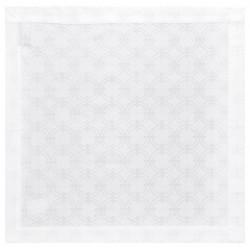 nappe au metre damasse blanc tissu