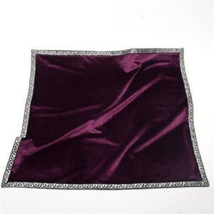 tapis de tarot divinatoire violet