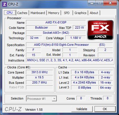 Undervolting FX-8150