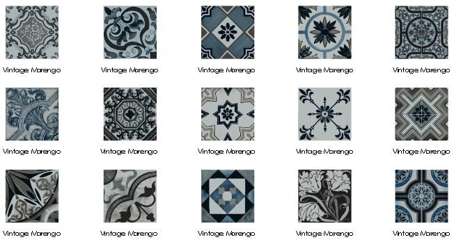 carrelage sol et mur imitation carreau ciment 22 5x22 5 vintage mareng