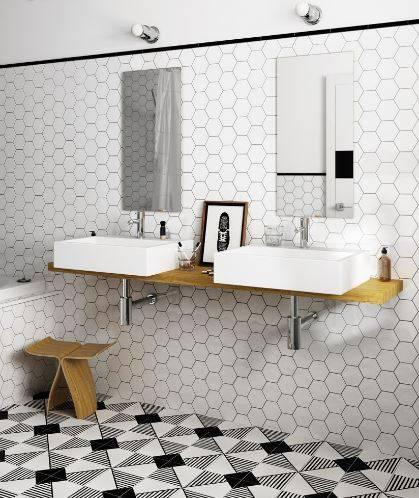 Carrelage Hexagonal Sol Et Mur Petit Format Mat Jacou Prs De Montpellier B31 Vente De