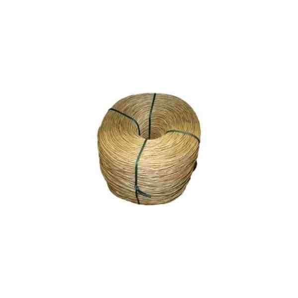 Bobine en paille diamètre 5 à 6 cm rempaillage, 4,5kg