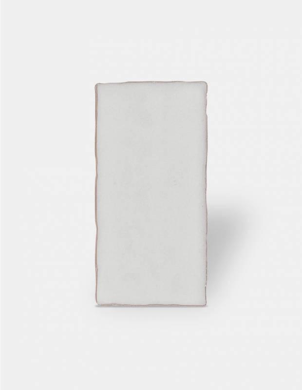 carrelage retro mural brillant blanc 7 5 x 15 cm an0802006