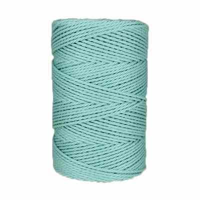 Macramé - corde - ficelle - coton- Fil - Azurin 2,5mm