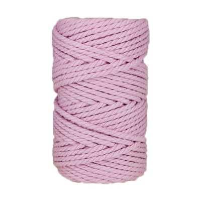Macramé - corde - ficelle - coton- parme - 5mm