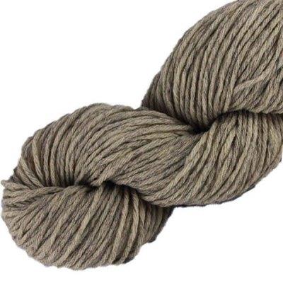 Laine naturelle Française - Tourterelle - Echeveau de pure laine de pays à tricoter