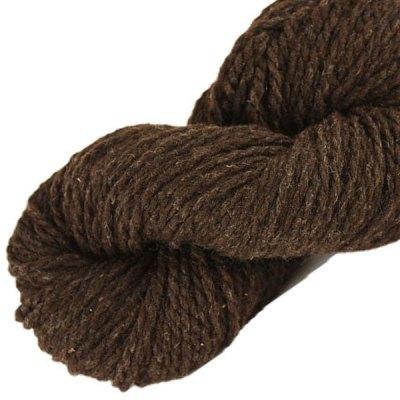 Laine naturelle Française - Terre d'ombre - Echeveau de pure laine de pays à tricoter