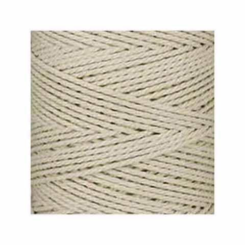 Macramé - corde - ficelle -blanc cassé naturel - coton- cordon - fil 2,5 mm - vendu au mètre