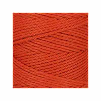 Macramé - corde - ficelle - coton- orange brûlé - cordon - fil 2,5mm - vendu au mètre