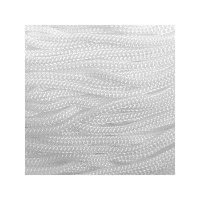 Cordon Swan Thai - Corde Thailandaise - Fil de 2mm - Blanc - tricot - crochet - sacs