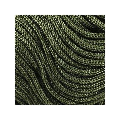Cordon Swan Thai - Corde Thailandaise - Fil de 2mm - Vert kaki - tricot - crochet - sacs