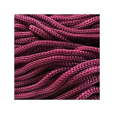 Cordon Swan Thai - Corde Thailandaise - Fil de 2mm - Aubergine - tricot - crochet - sacs