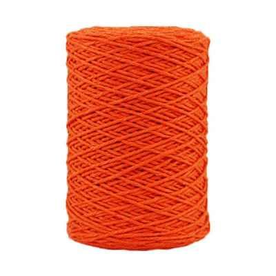 Coton bitord - Barbante - Fil de coton - Orange