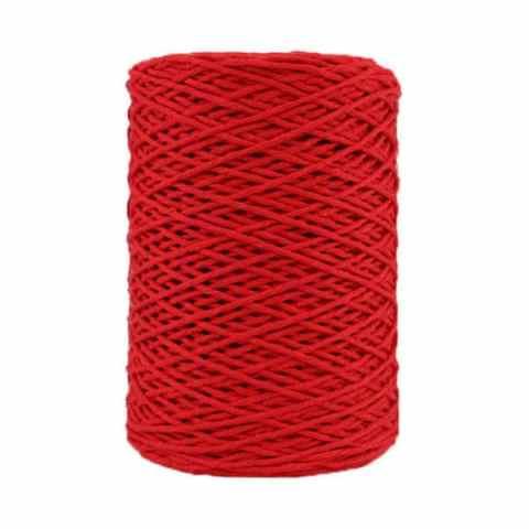Coton bitord - Barbante - Fil de coton - Rouge