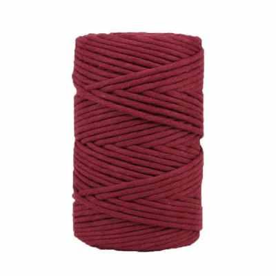 Coton-peigné-Amarante
