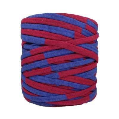 Trapilho-bobine-pelote-rayé-bordeaux-bleu