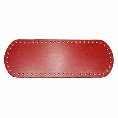 Fond de sac ou base de sac à coudre ou à crocheter - Rouge cramoisi