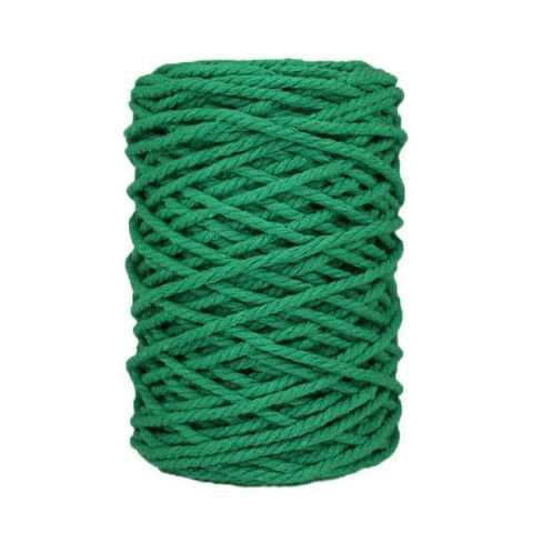 Cordon macramé - Vert émeraude