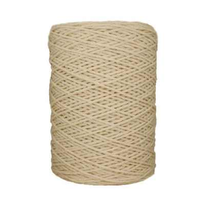 Coton bitord (barbante) - 2 mm - Naturel