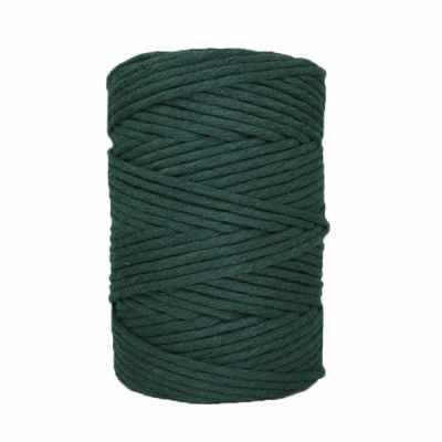 Coton-peigné-vert-mélèze