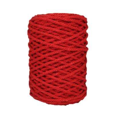 Cordon-coton-torsadé-Rouge-coquelicot