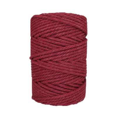 Corde macramé - 4 mm - Lie de vin