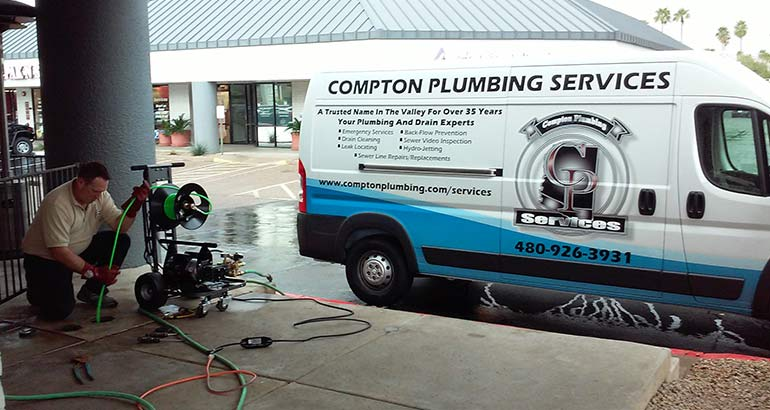 Drain Cleaning Plumbing Services in Phoenix, Scottsdale, & Mesa, Arizona