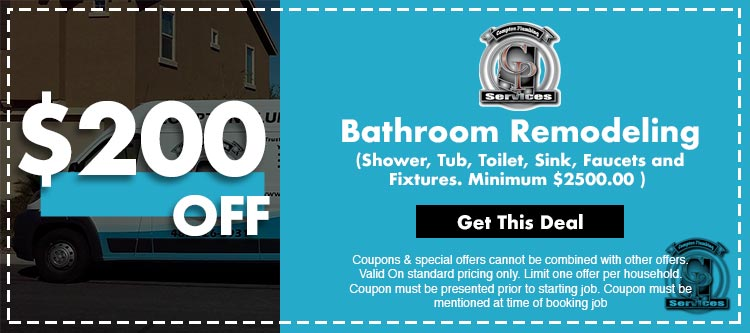 discount on bathroom remodeling in Mesa, AZ