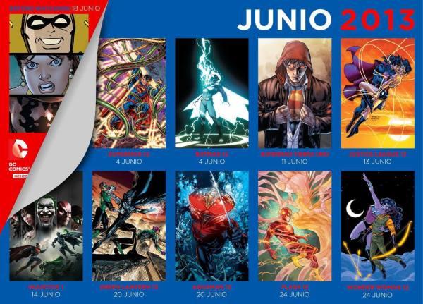 checklist dc comics mexico junio