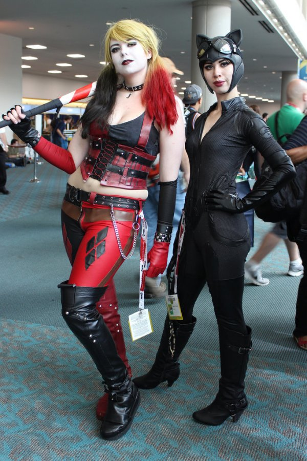 Harley-Quinn-Catwoman