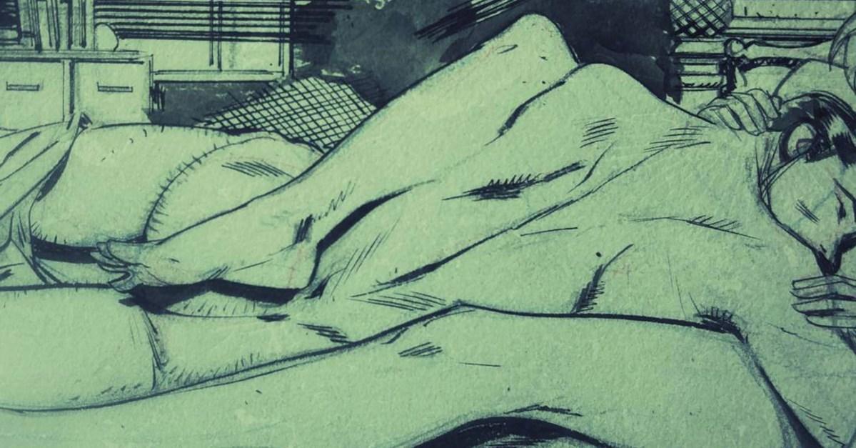 Batman: Revelan la primera imagen de Harley Quinn y el Joker desnudos en un encuentro amoroso