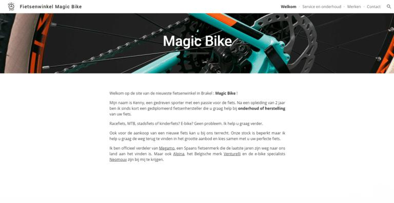 magic bike Brakel