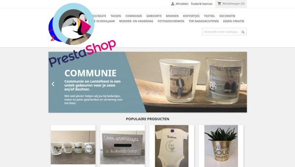 Compufix brakel - Webdesign - Prestashop