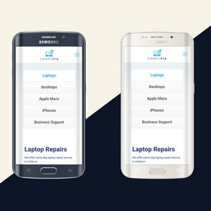 Samsung phone repair in chester, Rhyl, mold and wrexham. Compufix can repair all phone types and models