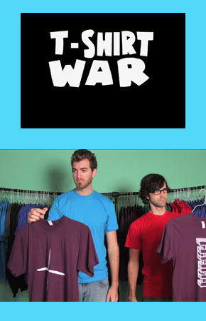 T-Shirt War Animation