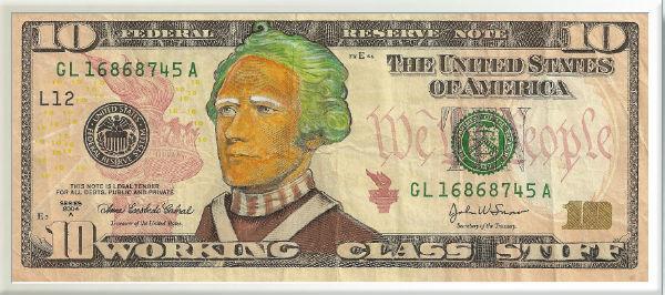 Oompa Loompa on a $10