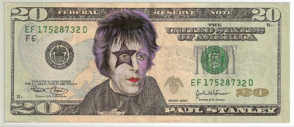 Paul Stanley on money.
