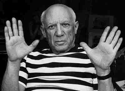 A photo of Pablo Picasso