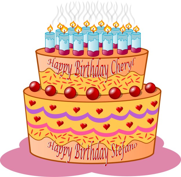 Happy Birthday to Brave Companions Stefano and Cheryl.