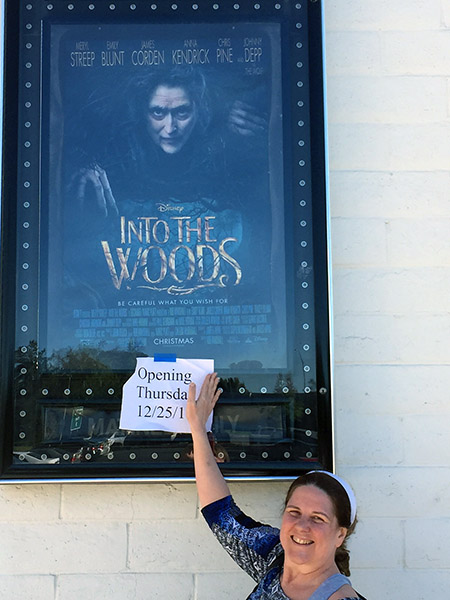 Laurie by Into the Woods movie poster