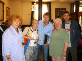 Harrogate Alumni Jane Gregory Laura Wilson Simon Kernick Val McDermid and Mark Billingham-1