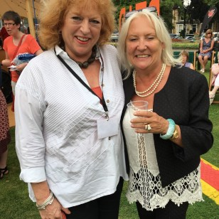 Jane Gregory and Martina Cole