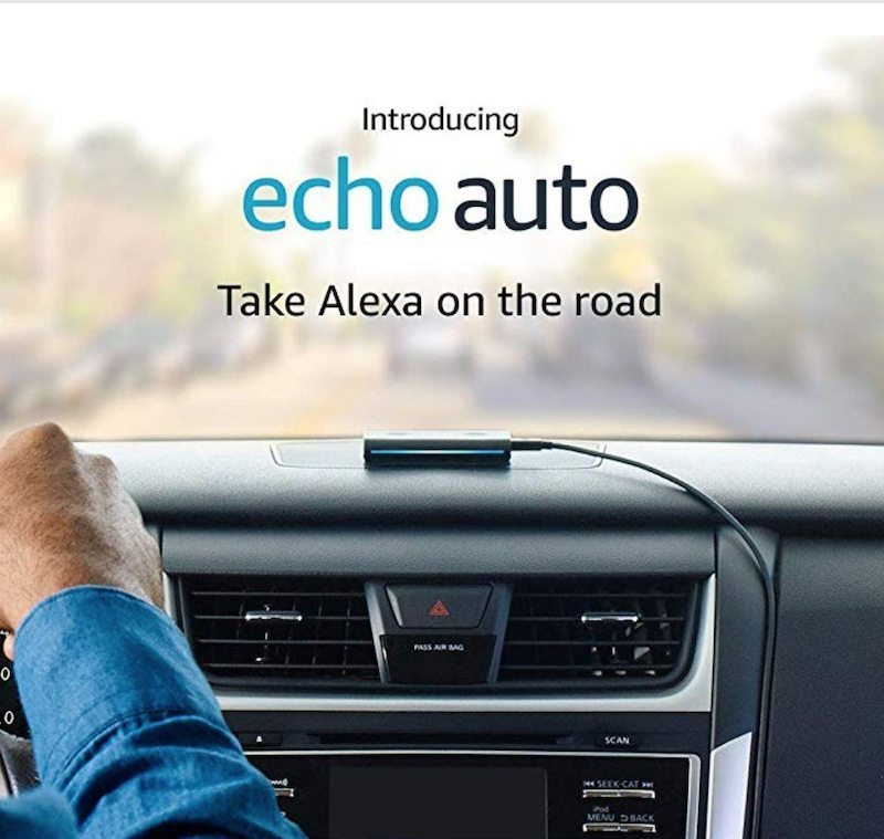 """Amazon Introduces """"Echo Auto"""" - The First Echo for your car"""