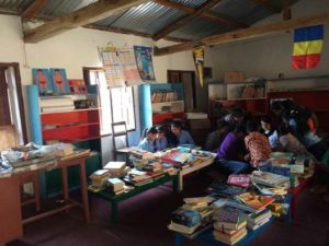 Computaris donations for library in Nepal