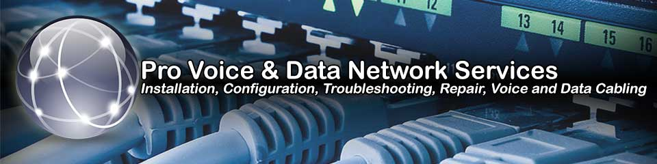 Mississippi Professional Network Installation, Repair and Voice and Data Cabling Services